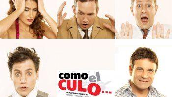 Feroz interna en el elenco de Como el culo: todos contra Marcelo De Bellis