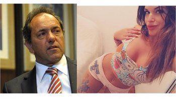 La increíble respuesta de Scioli sobre las fotos hot: Sofía promueve así su marca de ropa interior
