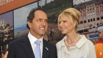 La reacción de Karina Rabolini ante el Scioli-Gate y la estrategia del ex gobernador