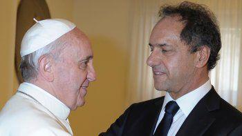 El caso Gisela Berger y el aborto distanciaron al Papa Francisco con Daniel Scioli