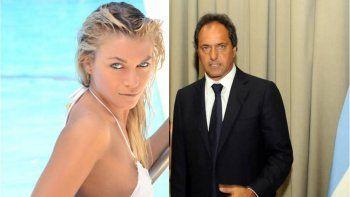 Dicen que Gisela Berger extorsionó a Scioli exigiéndole un departamento: ¿qué respondió él?