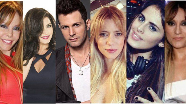 La moda es meditar: Nicole, Axel, Silvina Luna, Pamela David, Tauro y Novaresio lo hacen