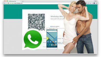 WhatsApp web: el terror de los famosos que los hace descubrir infidelidades y mensajes privados