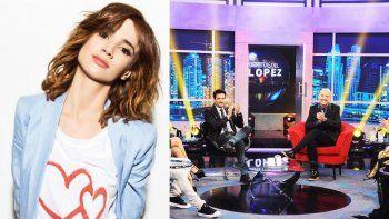 Celeste Cid plantó al Pelado López ayer: los motivo del faltazo de la actriz