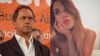 Sofia Clerici cambió la estrategia con Scioli: ¨No nos mandamos mas mensajes