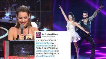 Feroz: Pampita contestó con malicia los dichos de Lourdes Sánchez y Usandivaras