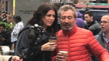 Las fotos de Pamela David en Nueva York junto a Daniel Vila: el motivo del viaje