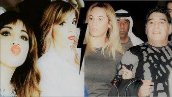 ¿Cómo resolvió Maradona la denuncia de Dalma y Gianinna contra Rocío Oliva?