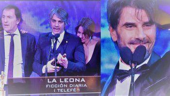 Premios de novela: Ganó La leona; Juan Darthés y Nancy Duplaa los mejores actores