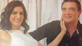 Cecilia Milone y Nito Artaza con los últimos preparativos de su tan ansiada boda