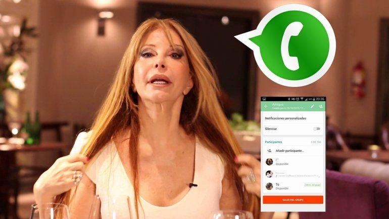 Alguien viralizó el celular de Alfano y la llaman para bardearla: sus audios pidiendo clemencia