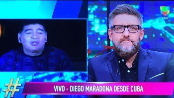 Diego Maradona disparó contra Macri y Claudia Villafañe: Es una ladrona