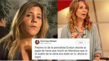 Dominique destruyó a Evelyn: Pésimo decirle al papá de la nena que murió en Mendoza...