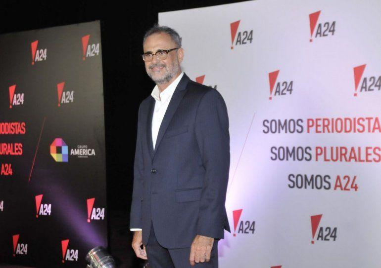 Sorpresiva decisión: Jorge Rial deja A24 el 13 de julio