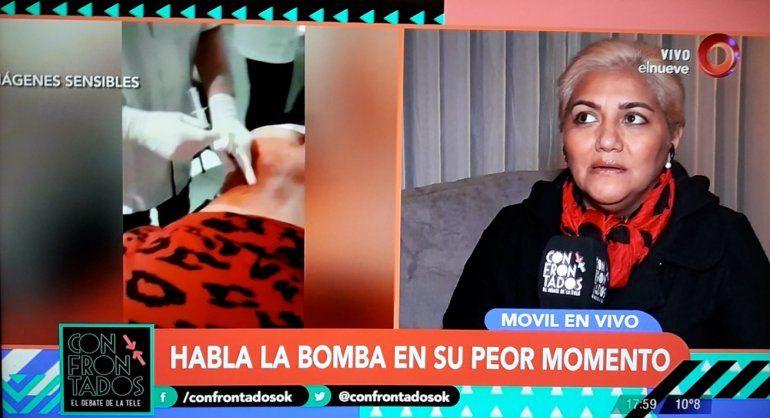 Impactante y tremendo video del tratamiento de la Bomba Tucumana para recuperarse de su lesión