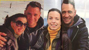 Aparecen fotos de Mercedes Funes de novia con el ex de Graciela Borges