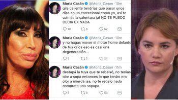 Moria Casán y Nancy Pazos se tiraron con todo: Pianta rating