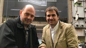 Rottemberg y Faroni preparan obras para el 2018