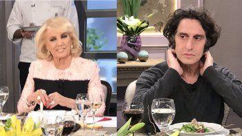 Escándalo entre Diego Peretti y Mirtha Legrand por audios de CFK: el actor se levantó de la mesa