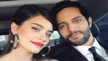 La foto romántica de Joaquín Furriel y Eva de Dominici en los premios Platino