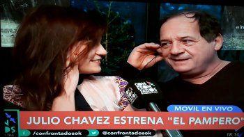 Julio Chávez se metió en la polémica del levantamiento de Fanny la fan