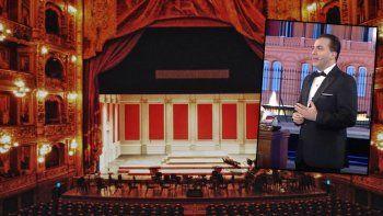 Desconcierto por el concierto de Cristian Castro en el Colón: el perforador de bombachas ¿miente?