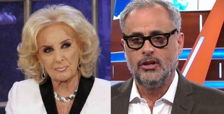 Jorge Rial, el invitado incómodo: la producción de Mirtha lo quiere en un programa a solas
