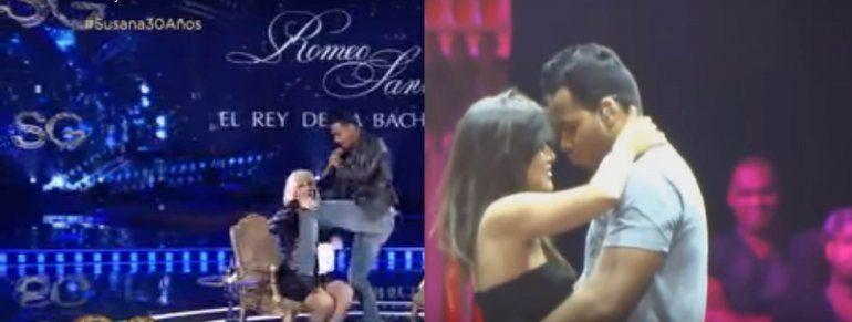 Acusan a Romeo Santos de sexópata: ayer agarró mal a Susana y se zarpa en el escenario