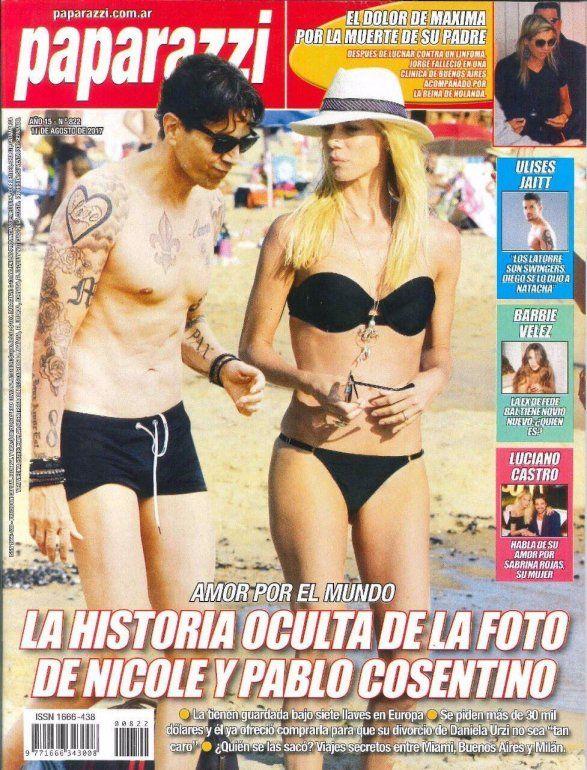 La polémica foto ¿real? de Nicole Neumann y su supuesto amante Pablo Cosentino