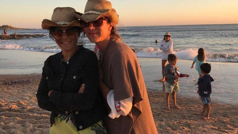 La nueva vida de Sara Stewart Brown, la ex mujer de Lanata: de viaje con una amiga en Londres