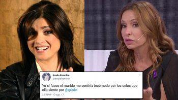 Furiosos tweets de Franchín contra Araceli: La obsesión que tiene con el chueco; exposición innecesaria...