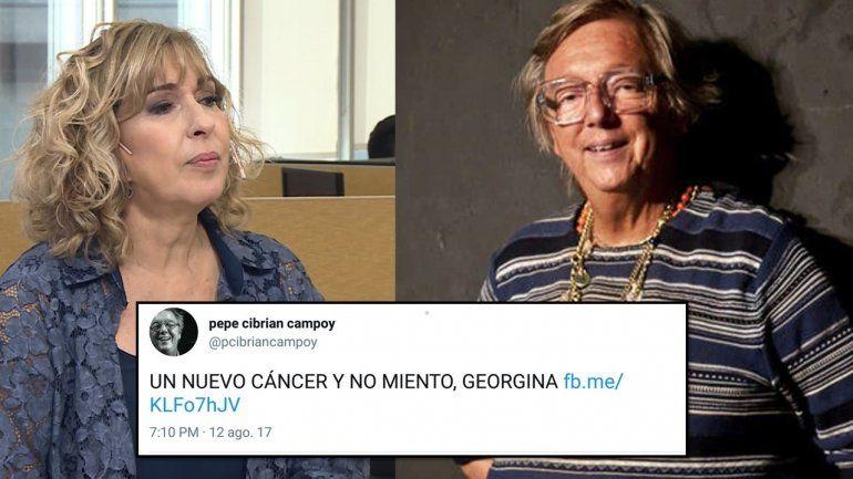 Cibrián enfermo y enojado: Un nuevo cáncer y no miento, Georgina