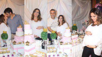El álbum del baby shower de Sandra Borghi antes de la llegada de su hija Juana