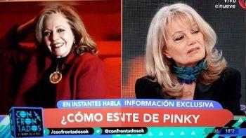 Pinky hoy: recluida en su casa de Palermo; en su retiro profesional y con una jubilación de 7 mil pesos