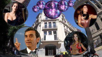 Alta farra con famosos en la noche de la veda electoral: Barbie Vélez en la fiesta del palacio Raggio