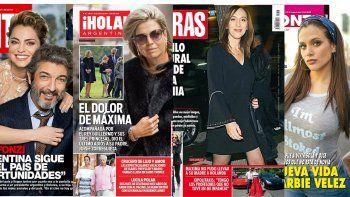 Tapas de mujeres: todas las revistas eligieron íconos femeninos para las portadas de esta semana