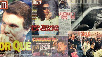 Se cumplieron 25 años del suicidio de Daniel Mendoza: ¿Se mató por Andrea Frigerio?