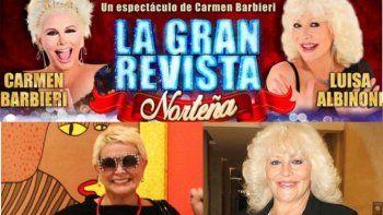 Qué pasa con la temporada de Carmen Barbieri en Termas: ¿Llamaron a Moria?