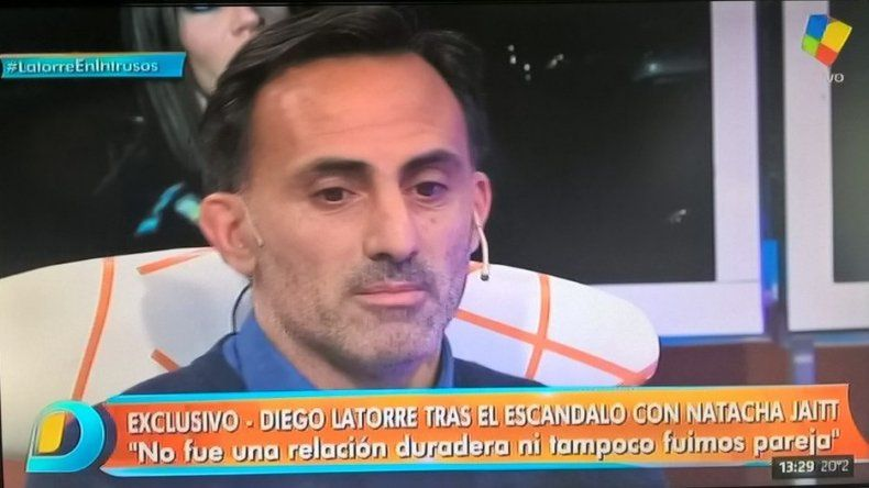 Diego Latorre habló por primera vez del escándalo Natacha: Me están destruyendo la vida