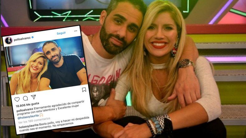 El Pollo Álvarez empieza su adiós a Combate con un tierno mensaje para Laurita Fernández