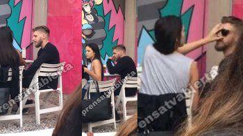 ¿Se confirma el romance?: Barbie Vélez y su hermanastro Lucas Rodríguez almorzando en San Isidro