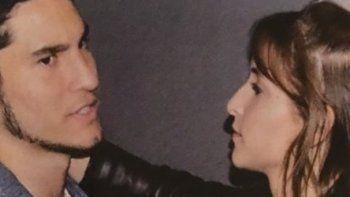 Las fotos de Francisco Tinelli apasionado con su novia