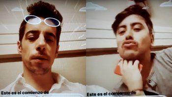 Esteban Lamothe juega con la ambigüedad sexual: mirá el video que termina con piquito