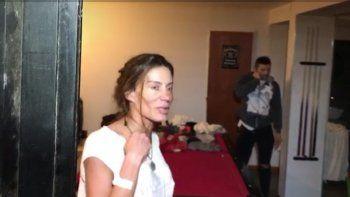 Los videos de Natacha furiosa en el allanamiento: Me las van a pagar ustedes