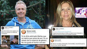 La insólita guerra de Marley y Mariana Lestelle por un chiste: Sé humilde