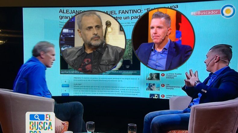 Después de su tweet enojado, Fantino habló en una nota de su cruce con Rial