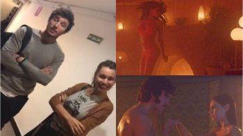 Pampita y Pico Mónaco dieron una nota y él está sacado con sus escenas hot en el cine
