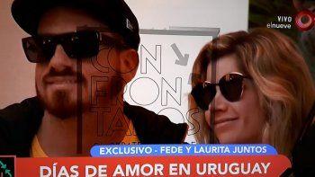 El video del fin de semana romántico de Laurita y Fede Bal en Punta del Este
