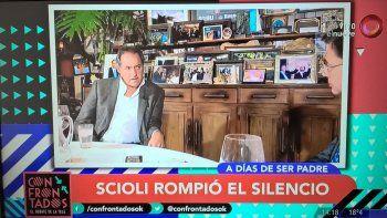 Scioli rompió el silencio por el embarazo de Berger y su relación con Rabolini: Intento recomponer las cosas