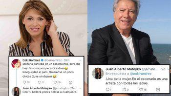 Insólito: Juan Alberto Mateyko le tiró los perros a Coki Ramírez sin ningún pudor